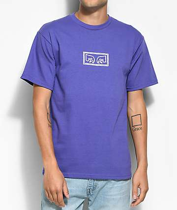 Obey Eyes Purple T-Shirt
