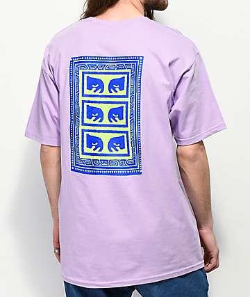 Obey Flashback camiseta lavanda