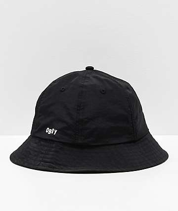 Obey Frederick Black Bucket Hat