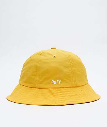 Obey Frederick Energy Yellow Bucket Hat