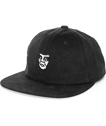 Obey Fubar Black 6 Panel Hat