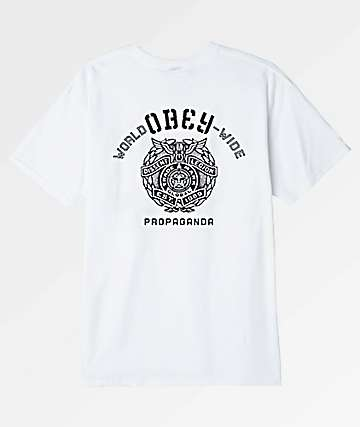 Obey Global Legion White T-Shirt