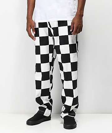 Obey Hardwork Checkered Work Pants