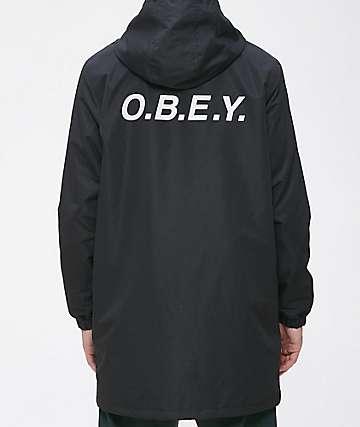 Obey Hester Black Jacket
