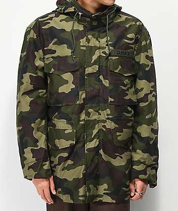 d72a3926e5c2e Obey Iggy Insulated Camo Jacket