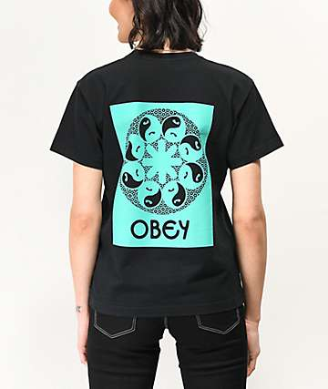 Obey Imbalance Black Box T-Shirt