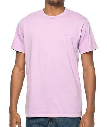Obey Jumble camiseta en color lavanda