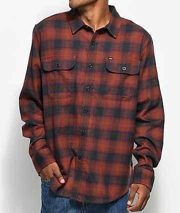 Obey Kemper Port camisa de franela