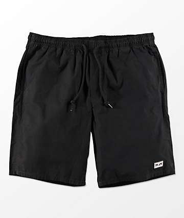 Obey Legacy III Black Shorts