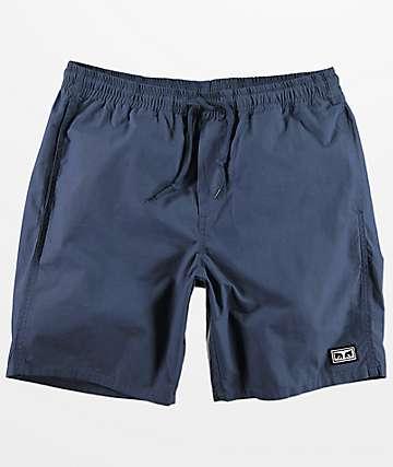 Obey Legacy III shorts azul marino