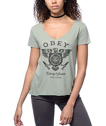 Obey Liberty & Justice Dylan Sage T-Shirt