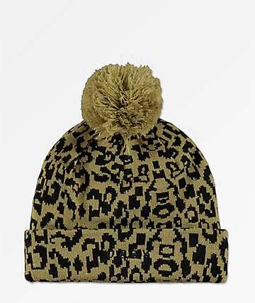 Obey Lyndale gorro de leopardo