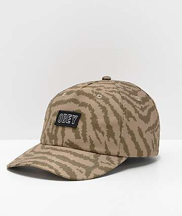Obey Mad River Strapback Hat