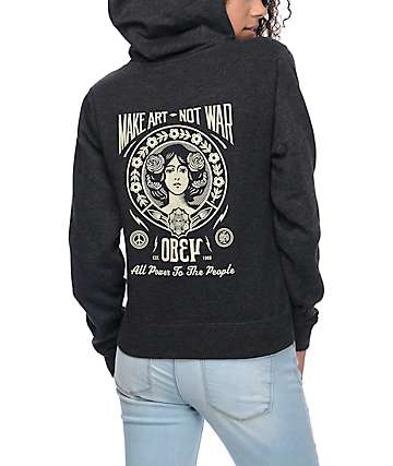 Obey Make Art Not War 2 Hoodie