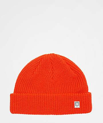 Obey Micro Burnt Red Beanie