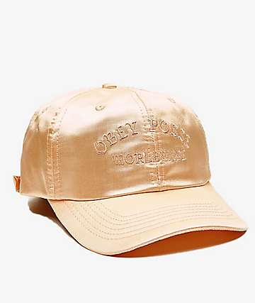 Obey Midtown Summer Peach Dad Hat