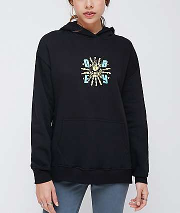 Obey Ministry Of Propaganda Delancy Black Hoodie