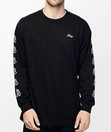 Obey Mira Rosa 2 Black Long Sleeve T-Shirt