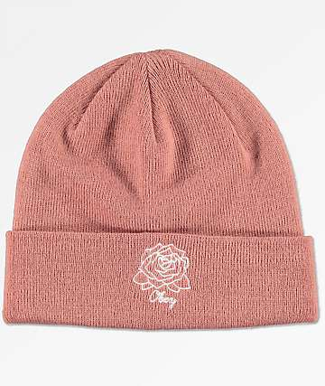 Obey Mira Rosa Dusty Rose Beanie