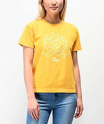 Obey Mira Rosa Mango Box T-Shirt