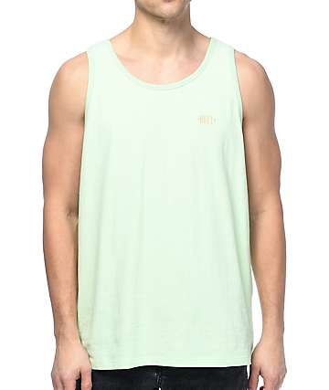 Obey New Times Box Mint Tank Top