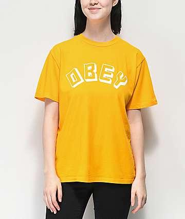 Obey New World Choice Autumn camiseta