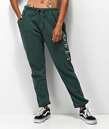Obey Novel 2 pantalones deportivos verdes