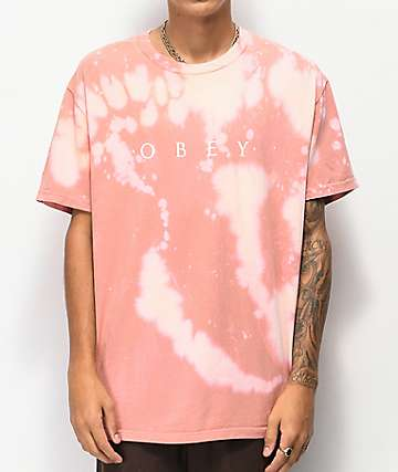 Obey Novel Rose Bleach T-Shirt