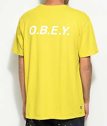 Obey O.B.E.Y. Dusty Celery T-Shirt