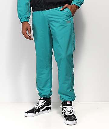 Obey Outlander Teal Track Pants