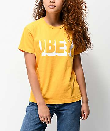 Obey Park Life Mango Box T-Shirt