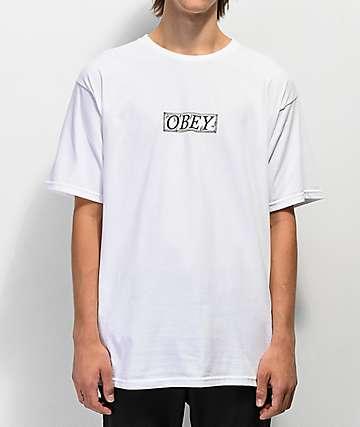 Obey Philosophy camiseta blanca