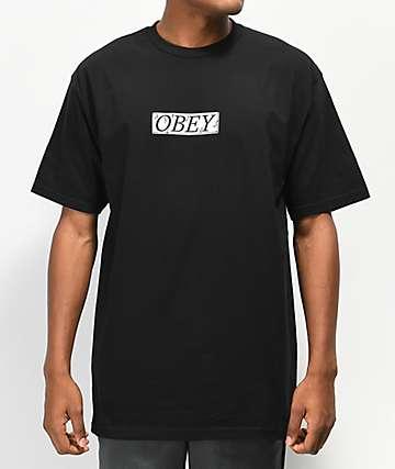 Obey Philosophy camiseta negra