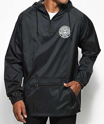 Obey Propaganda Co. Black Anorak Jacket
