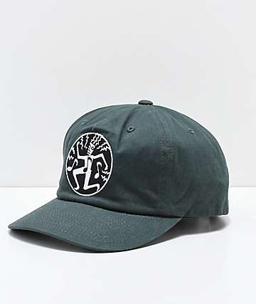 Obey Rhythm Dark Green Strapback