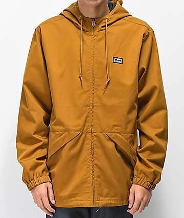 Obey Russet Tapenade chaqueta parka