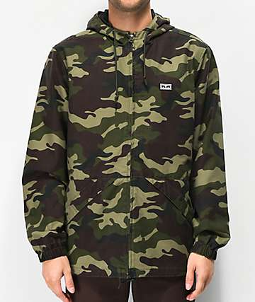 Obey Russett Field Camo Jacket