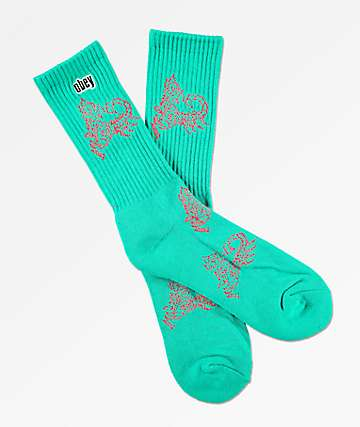 Obey Scorpion Pine Crew Socks
