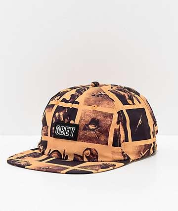 9e96f625f09 Obey Sherman Strapback Hat