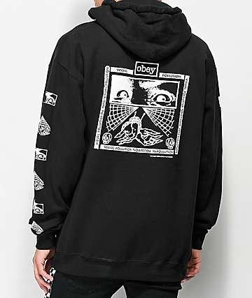 Obey Shockbound Black Hoodie
