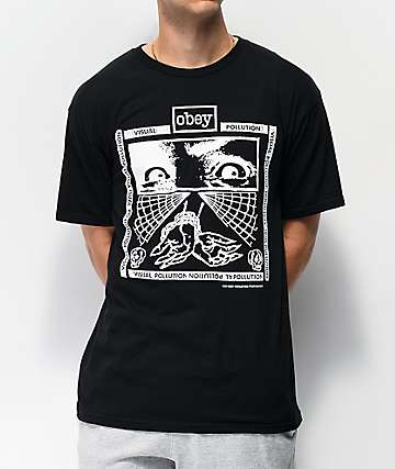 Obey Shockbound Black T-Shirt
