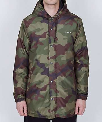 Obey Singford Camo Jacket
