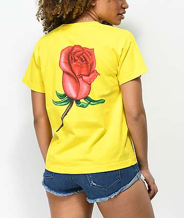 Obey Slauson Rose Sunkissed T-Shirt