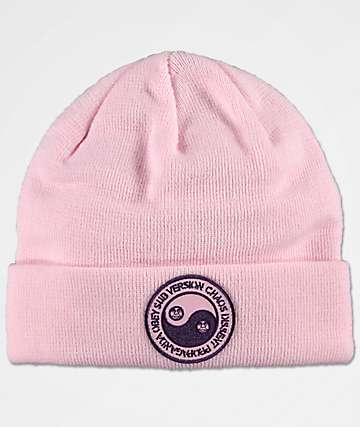 Obey Subversion Pink Beanie