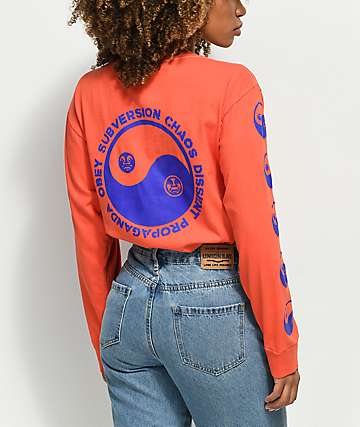 Obey Subversion Salvage Dust Pop Long Sleeve Shirt