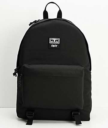 Obey Takeover Black Backpack