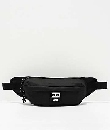 Obey Takeover Black Crossbody Bag