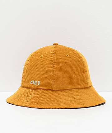 Obey Tenderly Golden Palm Bucket Hat