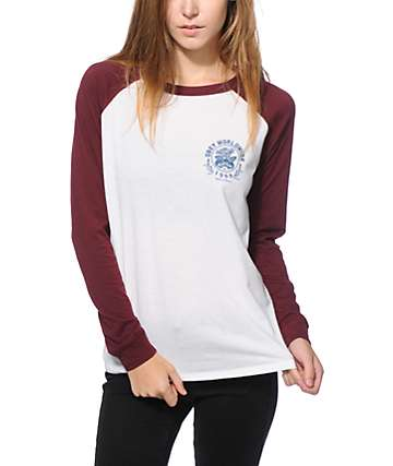 Obey Thick As Thieves Long Sleeve Raglan Shirt