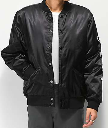 Obey Timeless Black Bomber Jacket